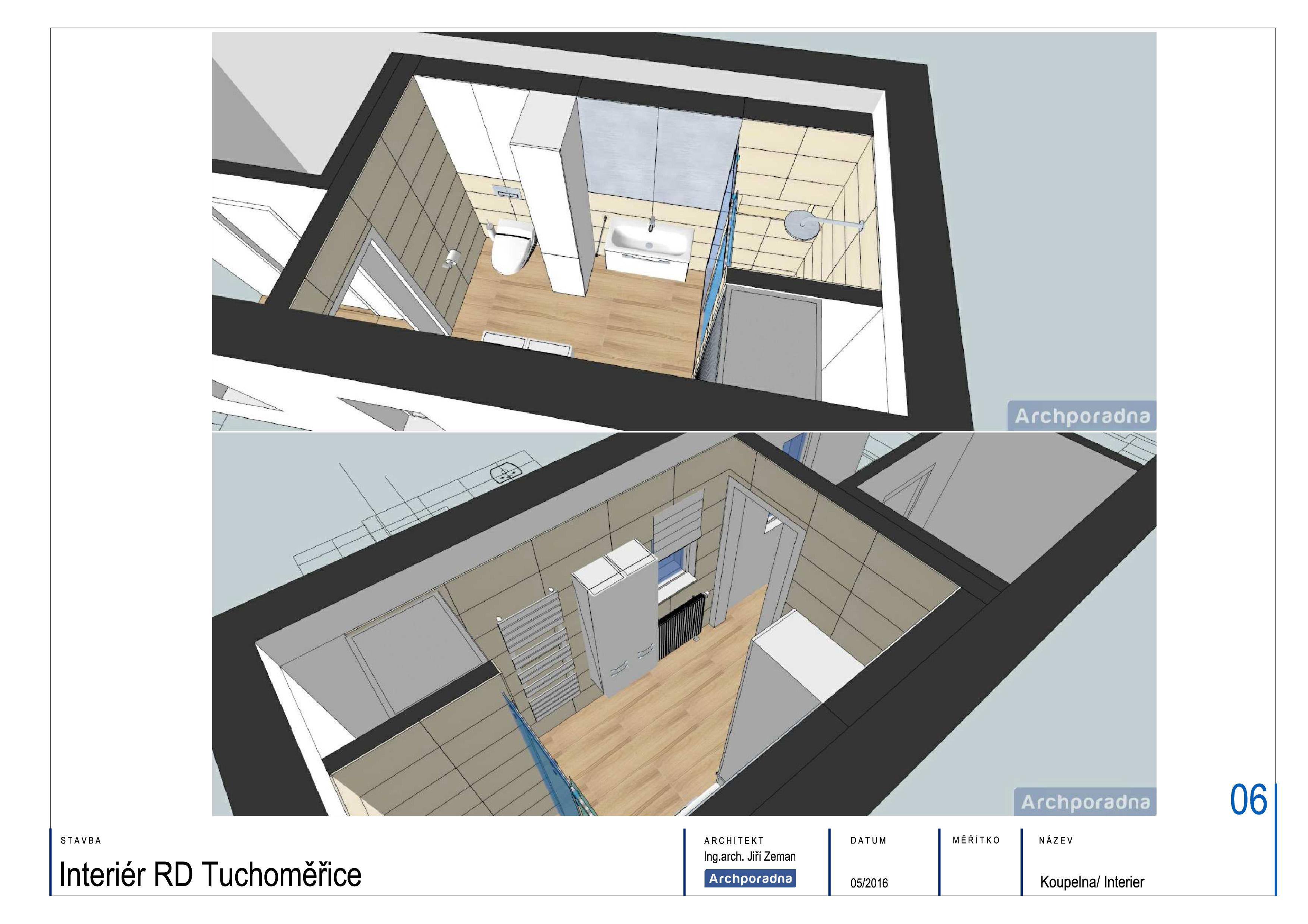 Návrh koupelny 7